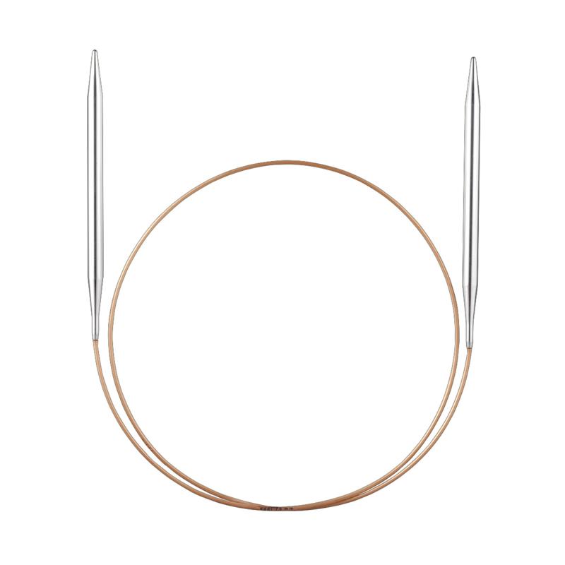 Rondbreinaald metaal 5 mm
