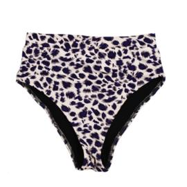 Dames Bikini broekje Highwaist | Leopard | Handmade