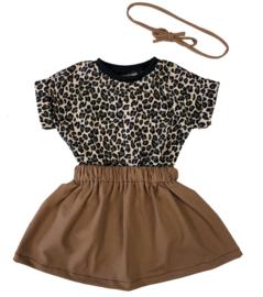 Setje | Leopard bruin