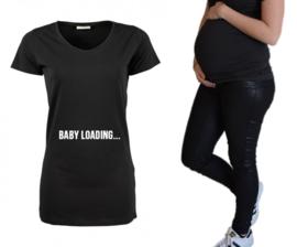"""Zwangerschapsshirt """"Baby Loading"""""""