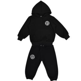 "Royal Rebel joggingset Hoodie Oversized ""Black"""
