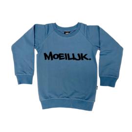 """Sweater """"Moeilijk""""   Meerdere kleuren verkrijgbaar"""