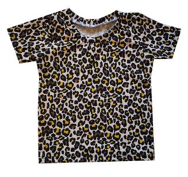 Shirt Leopard Oker