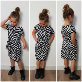 Dress Lovely Zebra (ook voor dames!)