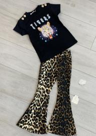 Shirtje Tigers (met goudkleurige knoopjes)