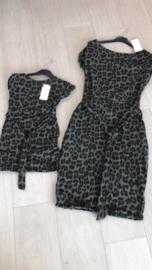 Twinning jurkjes Leopard Groen