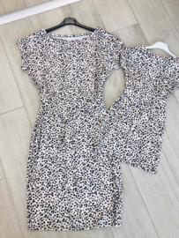 Twinning Cheetah jurkjes kids en dames
