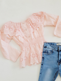 Blouse Lace Pink