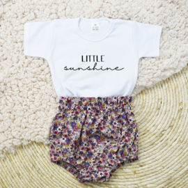 Setje Little Sunshine | Bloomer vintage blossom