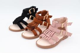 Sandalen meisjes Fringles Ibiza Pink