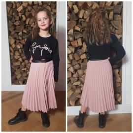 Shirt Bonjour Old Pink