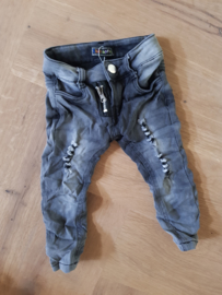Distressed Jeans Grey