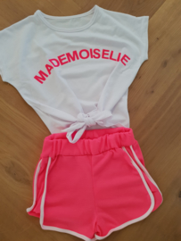 2-delig setje Mademoiselle Fuchsia