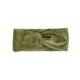 Haarband Twist | Mini Rib | Olive