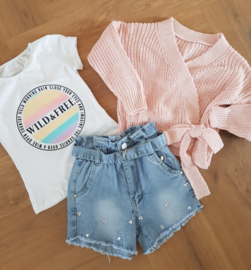 Shirt Wild & Free Rainbow