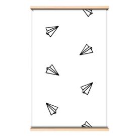"Wallpaper ""Paperplane"""