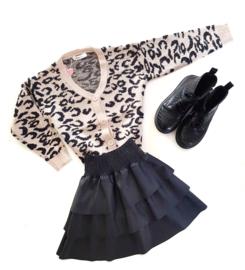 """Leopard vestje """"The Girl"""""""