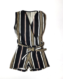 Playsuit Girly gestreept
