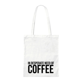 Canvas tas - Need Coffee
