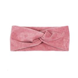 Haarband Twist | Mini Rib | Rose
