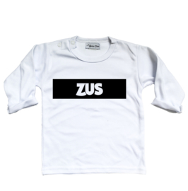 """Shirt """"Zus"""" wit"""