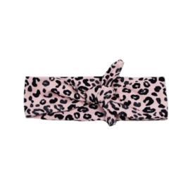 Haarband Leopard Pink