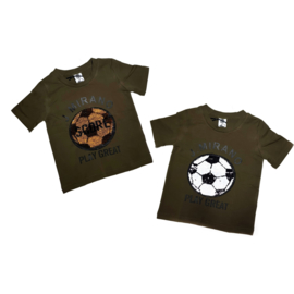 "Voetbal shirt Zero ""Green"""