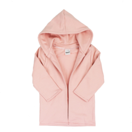 Hoodie vest | Cloudy Pink