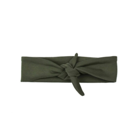 "Haarband ""Khaki Green"""