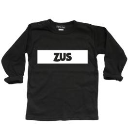 """Shirt """"Zus"""" zwart"""