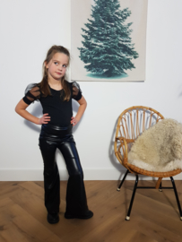 Flair broek Leatherlook
