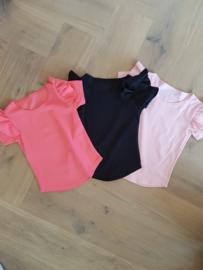 Ruffle shirt Pink