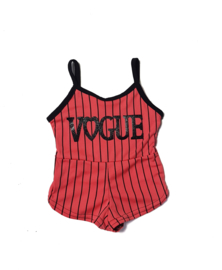 Playsuit Vogue Coral