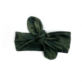 Haarbandje Camo Green
