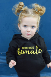 "Hoodie ""The Future is female"""
