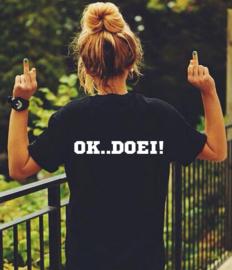 Shirt - OK .. DOEI!