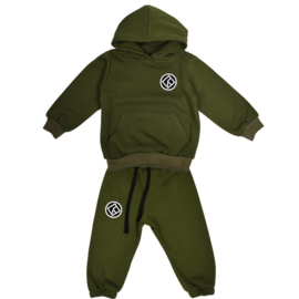 "Royal Rebel joggingset Hoodie Oversized ""Green"""
