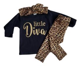 Setje Leopard Little Diva