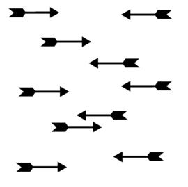 Muursticker pijlen