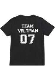 Shirt met naam en rugnummer