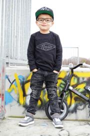 "Stoere jongens jeans ""distressed"""