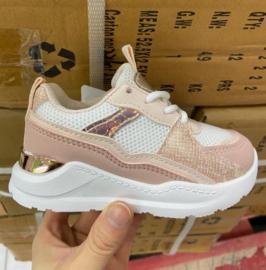 Sneakers meisje Rainbow Pink