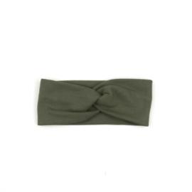 Haarband Twist | Khaki Green