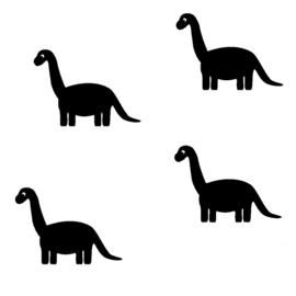 """Muurstickers """"Dino"""""""