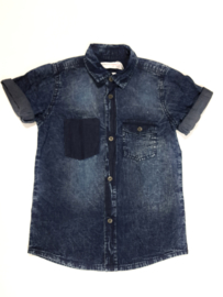 Stoere Denim Blouse