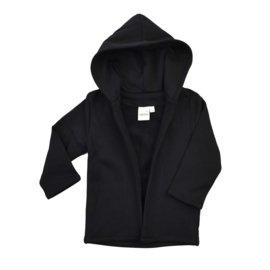 Hoodie vest Zwart