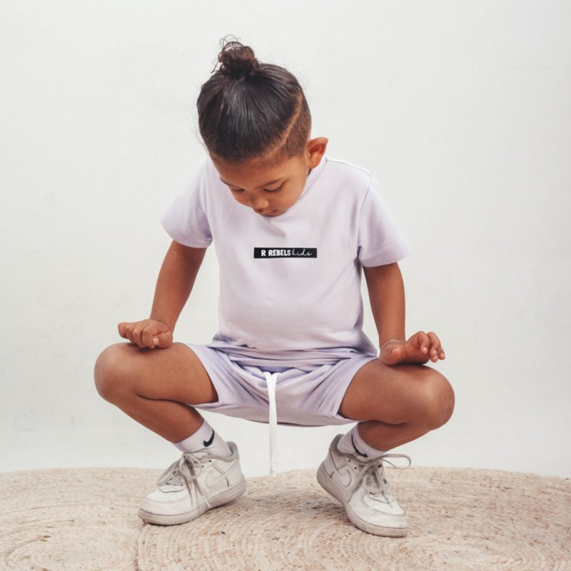 Pak met logo | short en shirt | Handmade