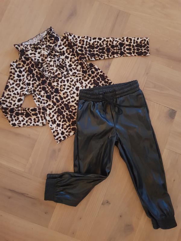 Leatherlook pants
