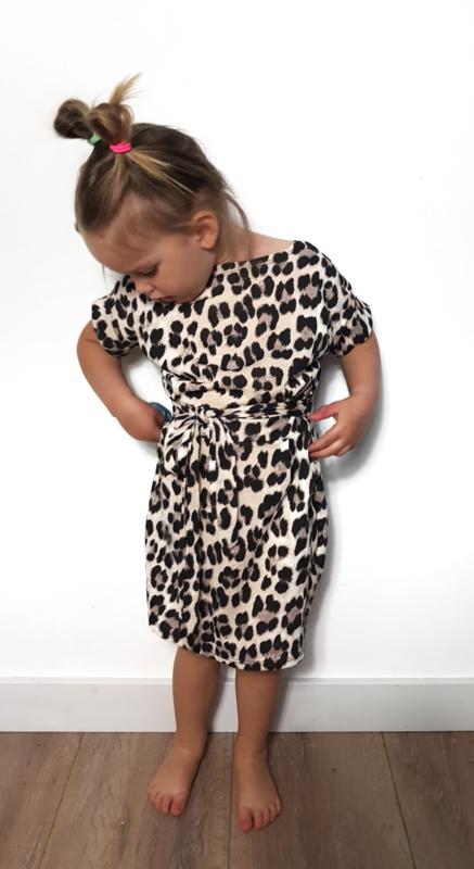 Twinning Leopard jurkjes kids en dames