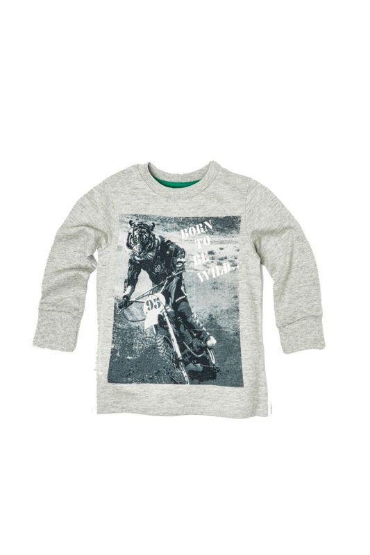 Shirt Crossing Tiger grey